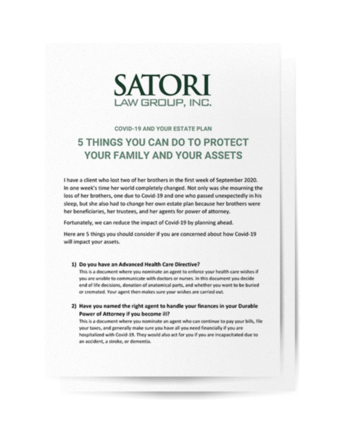 Satori Law White Paper